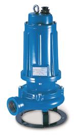 DTR 150 - DTRT 1000 kloak grinderdykpumpe