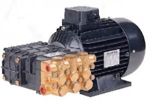stempelpumpe med el-motor